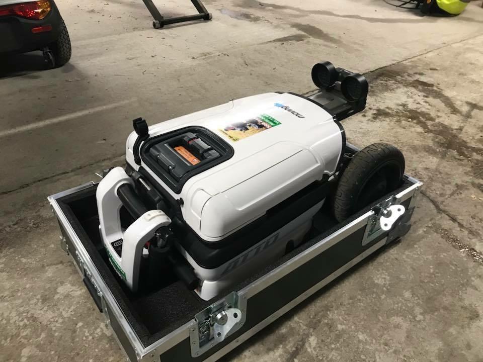 Sammenfoldet ATTO mobil elscooter klar til transport - PM Elscooter