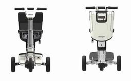 ATTO mobil elscooter - forfra og bagfra - PM Elscooter