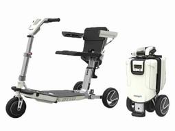 ATTO mobil elscooter - klar til kørsel og klappet sammen - PM Elscooter