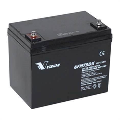 Batteri-Vision-75 Amp-PM Elscooter