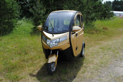 Hyker Climacar Comfort Plus - Kabinescooter - PM Elscooter