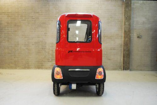 Bagende Hyker Climacar Comfort - Kabinescooter - PM Elscooter